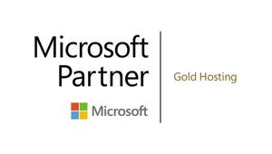 Microsoft Partner - Gold Hosting